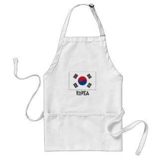Korea Flag Standard Apron