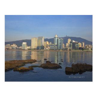 Korea, Gyeongsangnam-do, Busan, Gwangan beach Postcard