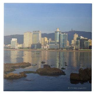 Korea, Gyeongsangnam-do, Busan, Gwangan beach Tile