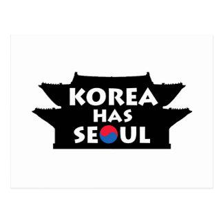 Korea Has Seoul Post Card