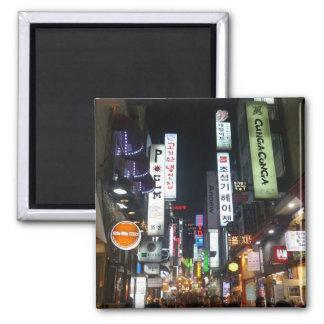 korea lights refrigerator magnets
