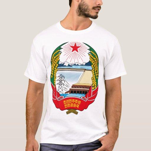 korea north coat of arms T-shirt