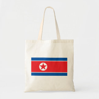 korea north tote bag