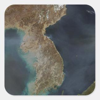 Korea Square Sticker