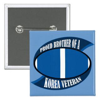 Korea Vet Brother 15 Cm Square Badge