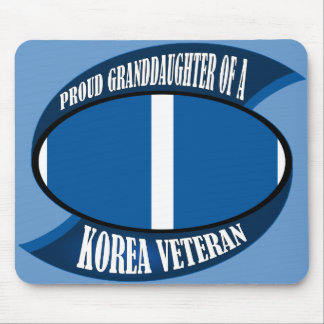Korea Vet Granddaughter Mouse Pad