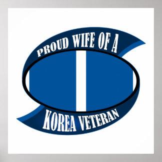 Korea Vet Wife Posters