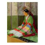 Korean Bride Postcard