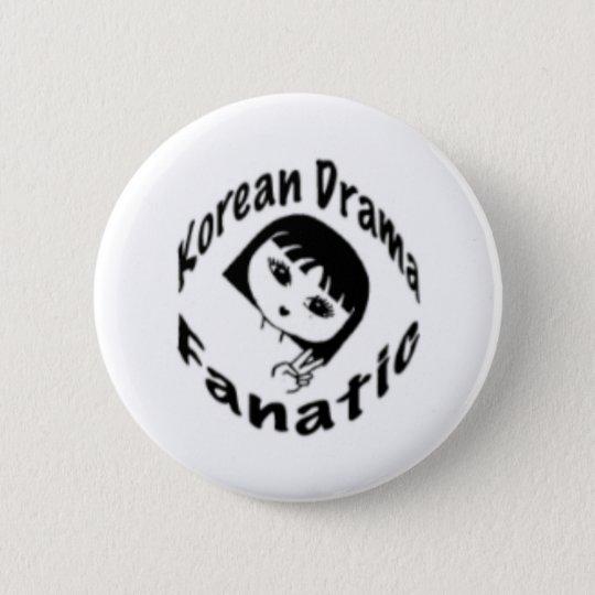 Korean Drama Fan Button