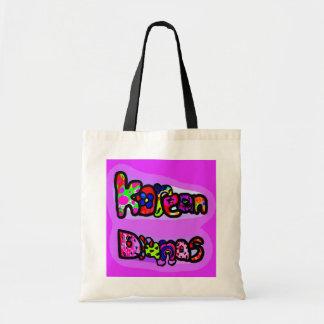 Korean Dramas Budget Tote Bag