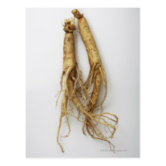 korean food,ginseng postcard