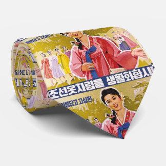 Korean Ladies Wearing Hanbok Tie