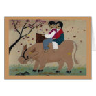 Korean Oxriders Any Occasion Card