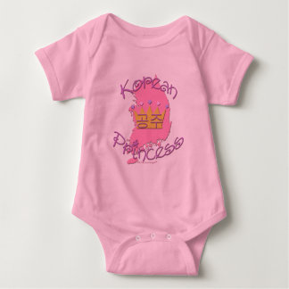 Korean Princess Baby Bodysuit