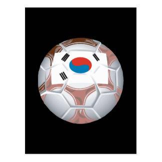 Korean Soccer Postcard