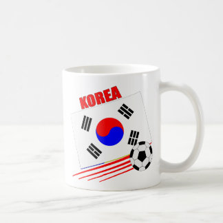 Korean Soccer Team Basic White Mug