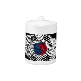 Korean touch fingerprint flag