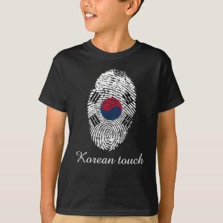 Korean touch fingerprint flag T-Shirt