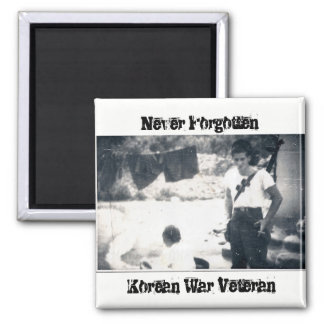 "Korean War Magnet ""Never Forgotten"""