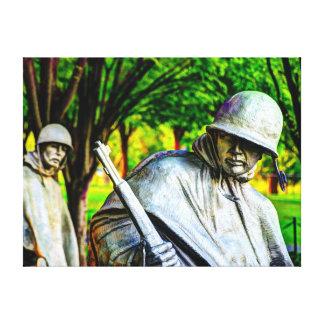 Korean War Memorial Canvas Print