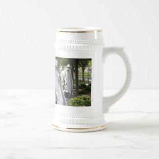 Korean War Memorial Coffee Mugs