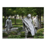 Korean War Memorial Post Card