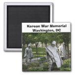 Korean War Memorial Square Magnet