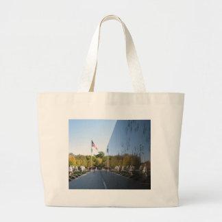 Korean War Memorial veterans Canvas Bag