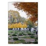 Korean War Memorial veterans Cards