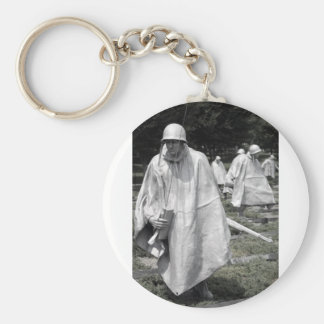 Korean War Memorial veterans Status Key Ring