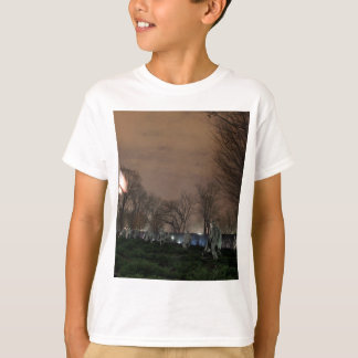 Korean War Memorial Washington Monument night T-Shirt