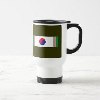 Korean War  Ribbon Travel Mug