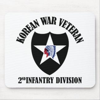 Korean War Veteran - 2nd ID Mouse Mat