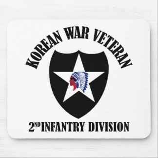 Korean War Veteran - 2nd ID Mouse Pad