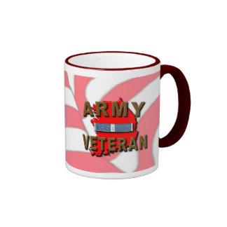 Korean War Veteran Service Ribbon, ARMY Coffee Mugs