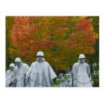 Korean War Veterans Memorial Postcard