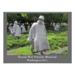 Korean War Veterans Memorial - poster