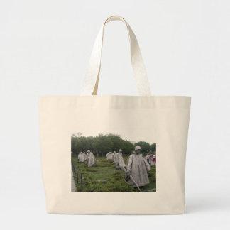 Korean War Veteran's Memorial Canvas Bags