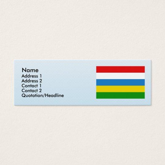 Kortenberg, Belgium Mini Business Card
