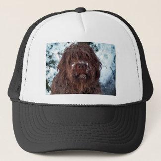 Korthals Griffon - Snowy Sarah Trucker Hat