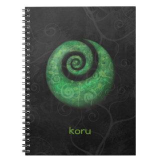 koru spiral notebooks