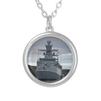 Korvette Braunschweig Anchored in Plymouth Silver Plated Necklace