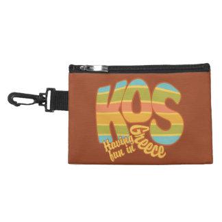KOS Greece custom accessory bags