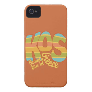 KOS Greece custom Blackberry Bold case