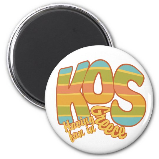 KOS Greece custom magnet