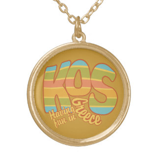 KOS Greece custom necklace