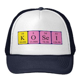 Kosei periodic table name hat