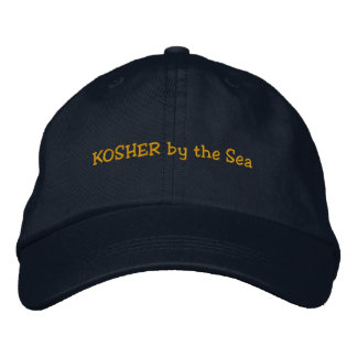 KOSHER by the Sea Embroidered Hat