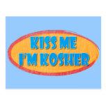 Kosher Humour Postcard