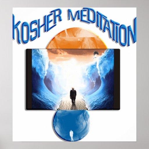 Kosher Mediation Print